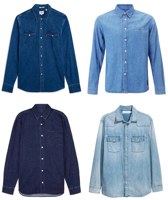 Les meilleures chemises en jean pour hommes