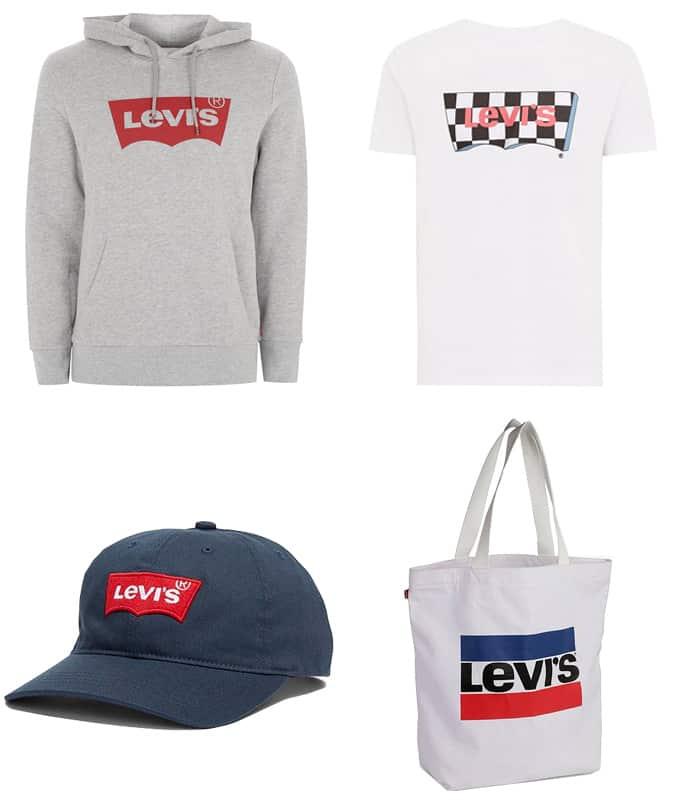 Les meilleurs vêtements avec logo Levi's pour homme