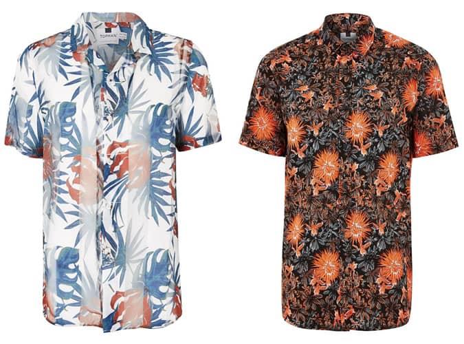 Chemises à manches courtes Topman pour homme