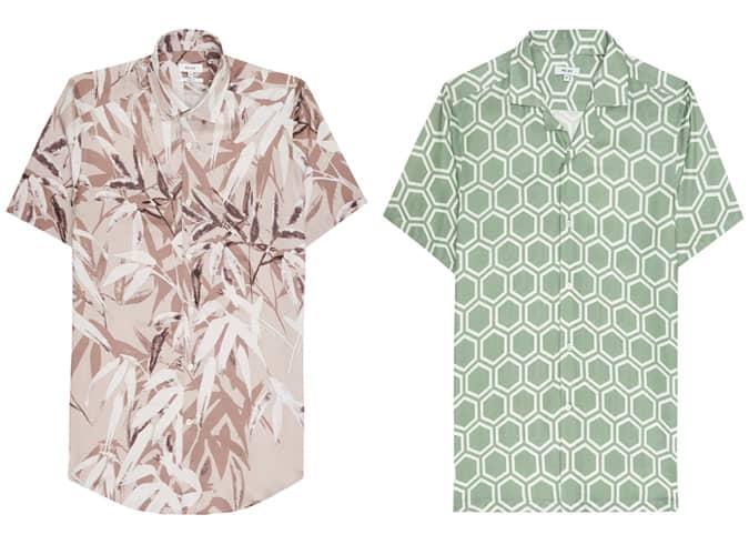 Les meilleures chemises à manches courtes Reiss pour hommes
