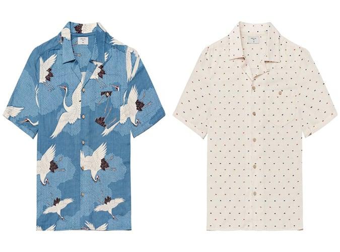 Chemises Percival à manches courtes pour hommes