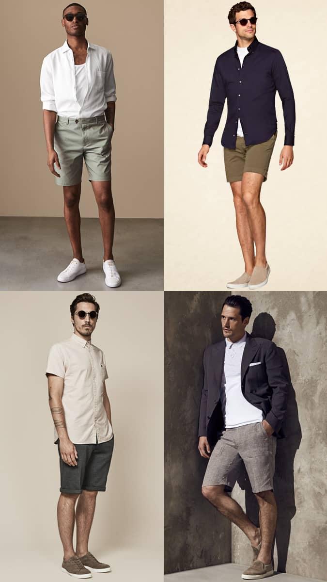 Comment porter un short sur mesure pour homme