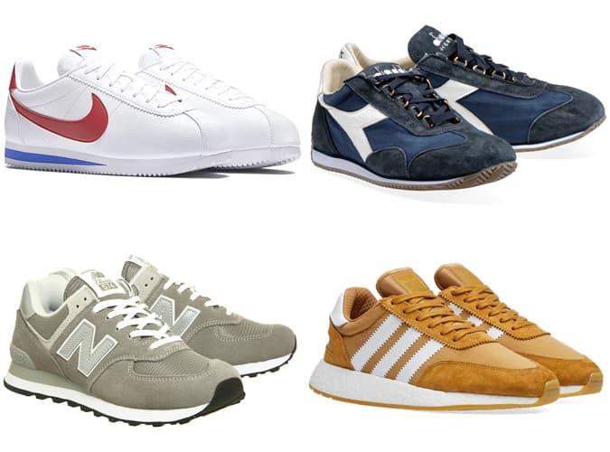 Les meilleures chaussures de course rétro