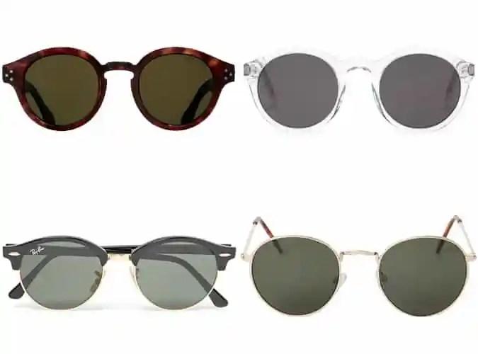 Les meilleures lunettes de soleil rondes pour hommes