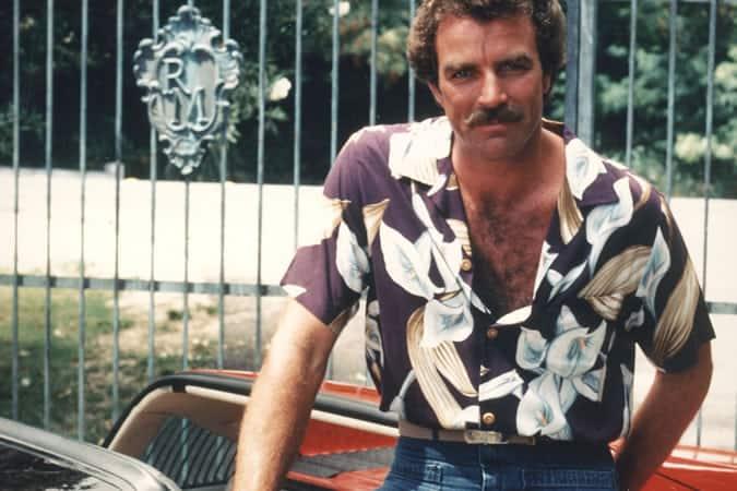 Tom Selleck dans Magnum PI