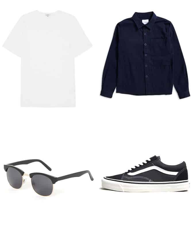 Comment porter un jean noir avec des vêtements de travail