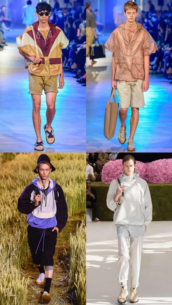 Déclaration Anoraks à la Semaine de la mode masculine
