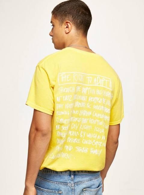Charles Jeffrey LOVERBOY T-shirt d'adoption