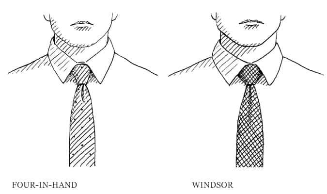 Quatre en main contre Windsor Knot