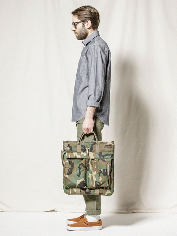 Espionage Camouflage Bag