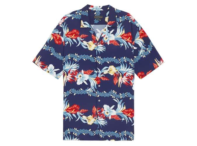 Chemise ample à fleurs Zara