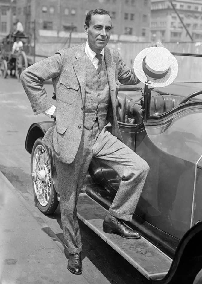 Winston Churchill un romancier américain à New York, 1916