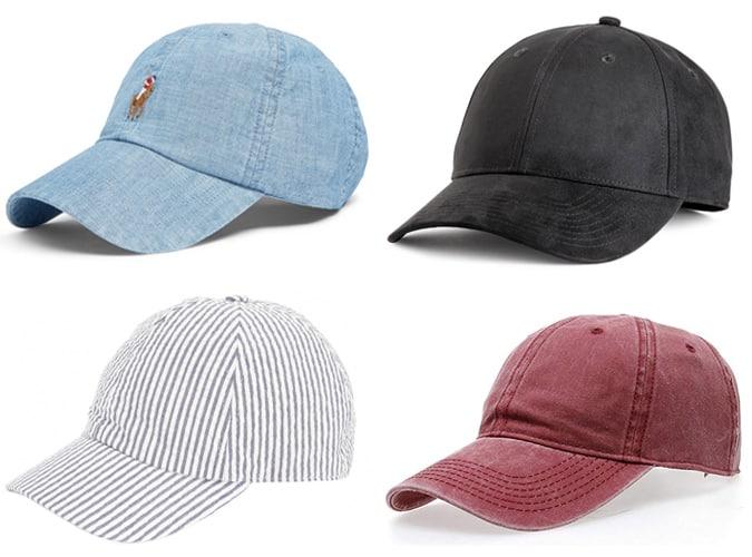 Les meilleures casquettes de baseball pour hommes