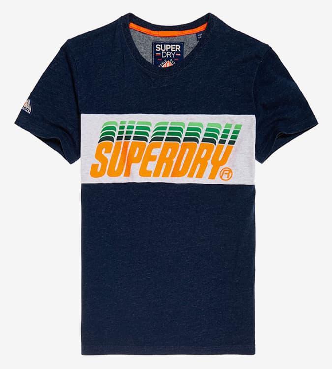 T-shirt à empiècements pop goutte triple