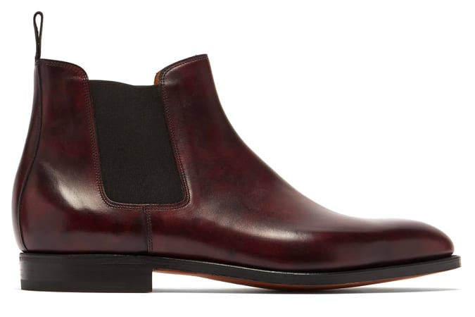 JOHN LOBB Lawry leather chelsea boots