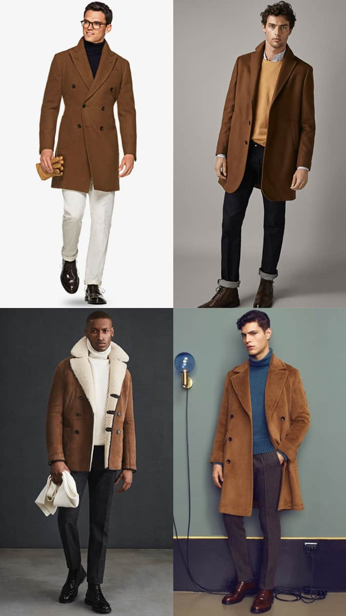 How To Wear A Brown Coat