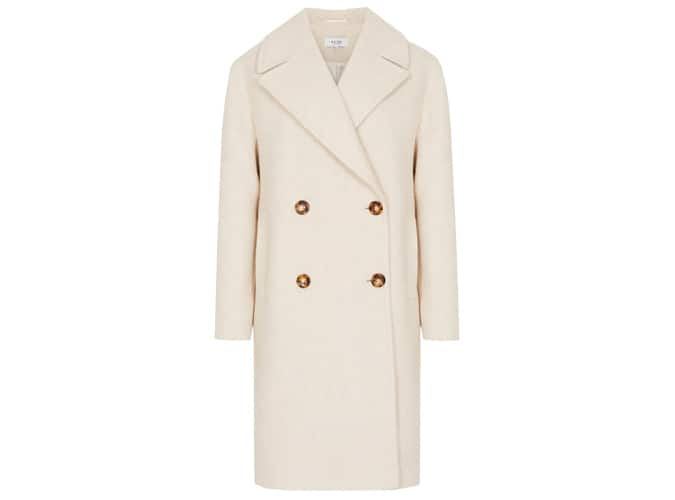 SCARLETTA WOOL BLEND TEDDY COAT