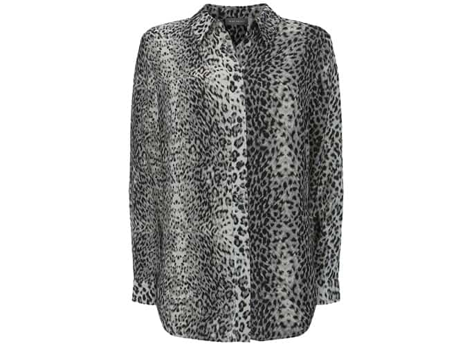 Mint Velvet River Animal Print Shirt