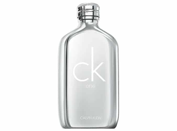 Eau de toilette Calvin Klein CK One Platinum