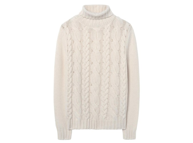 GANT Chunky Cable Turtleneck