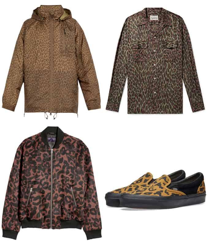 Les meilleures pièces de vêtements pour hommes à imprimé léopard