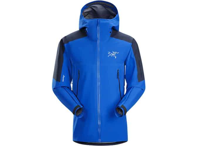 Meilleures vestes de ski pour hommes - Arc'teryx RUSH LT JACKET