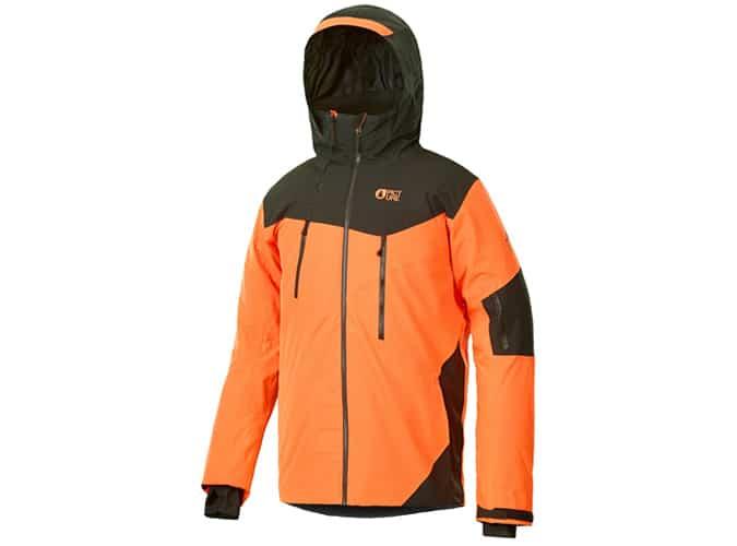 Meilleures vestes de snowboard pour homme - Image DUNCAN JKT ORANGE