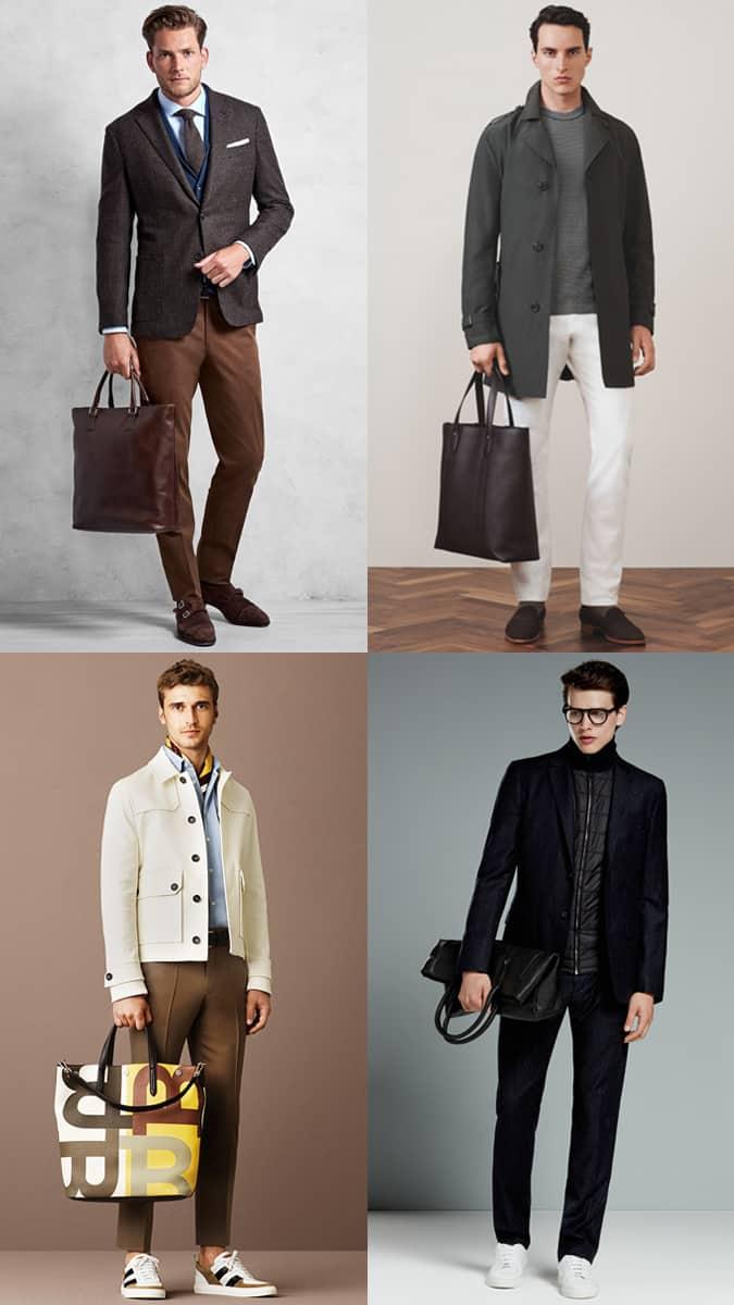 Comment porter un sac fourre-tout Homme