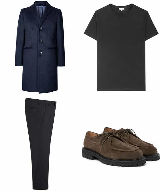Comment porter des chaussures marron et un pantalon noir