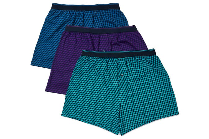 M&S COLLECTION Lot de 3 boxers en pur coton Cool & Fresh