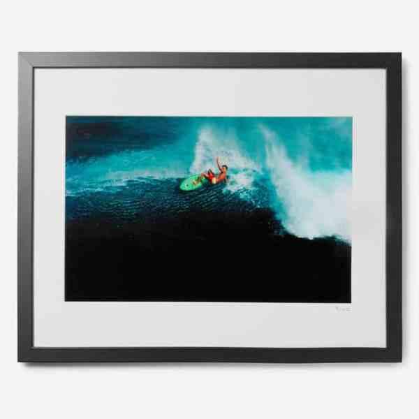 ÉDITIONS SONIQUES EXCLUSIVES Encadré 1981 Laird Hamilton en impression Kauai