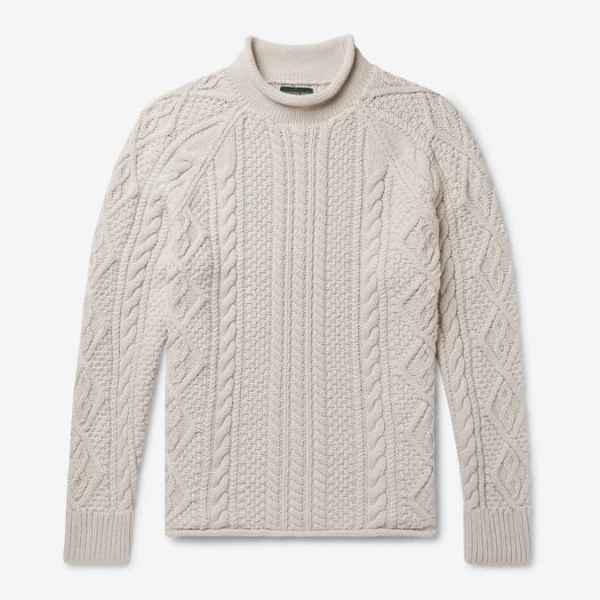 Pull à col roulé en tricot de coton J.CREW