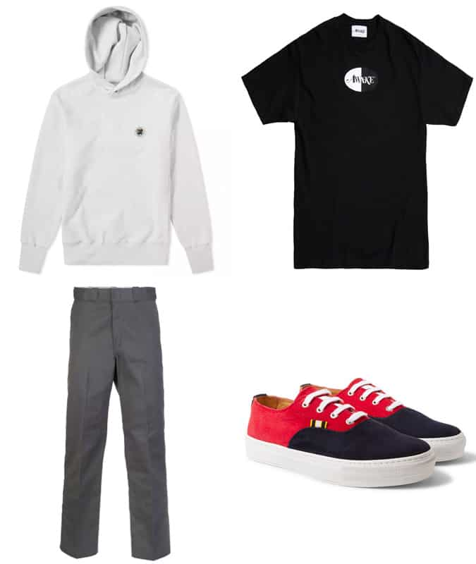 Comment porter des vêtements de skate