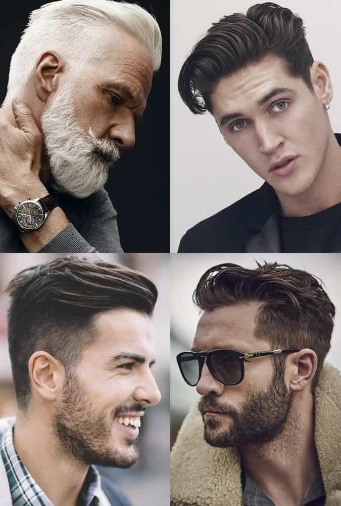 Men's Undercut Quiff Lookbook