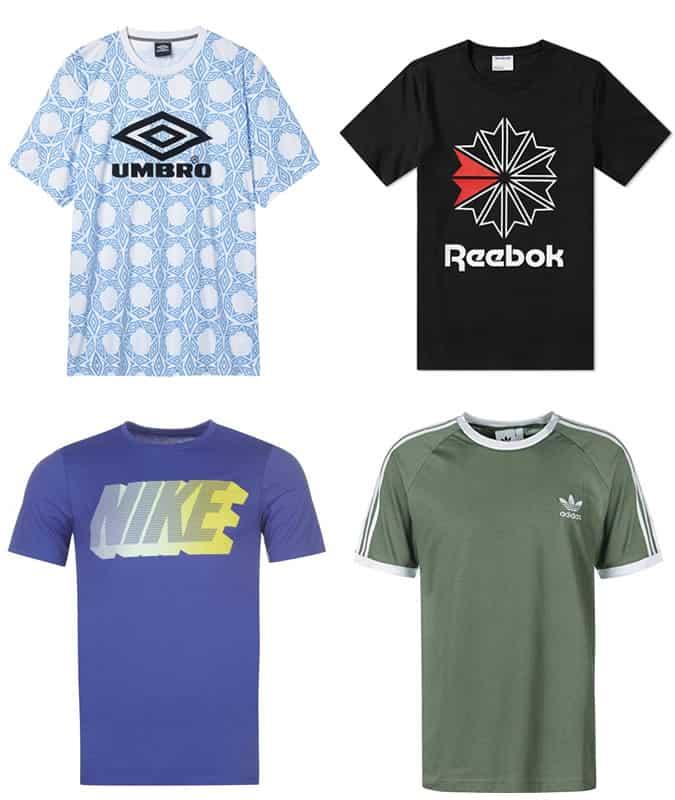 Les meilleurs t-shirts de sport rétro pour hommes