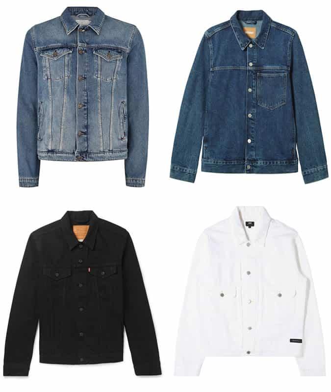 Les meilleures vestes en jean pour hommes