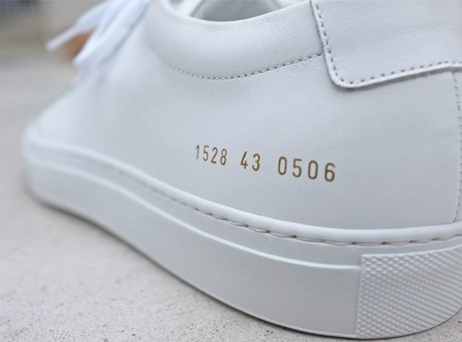Projets communs Original Achilles Low White