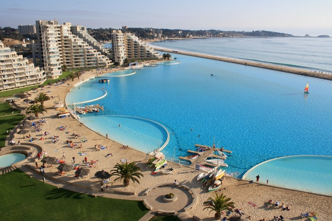 The San Alfonso del Mar Seawater Pool