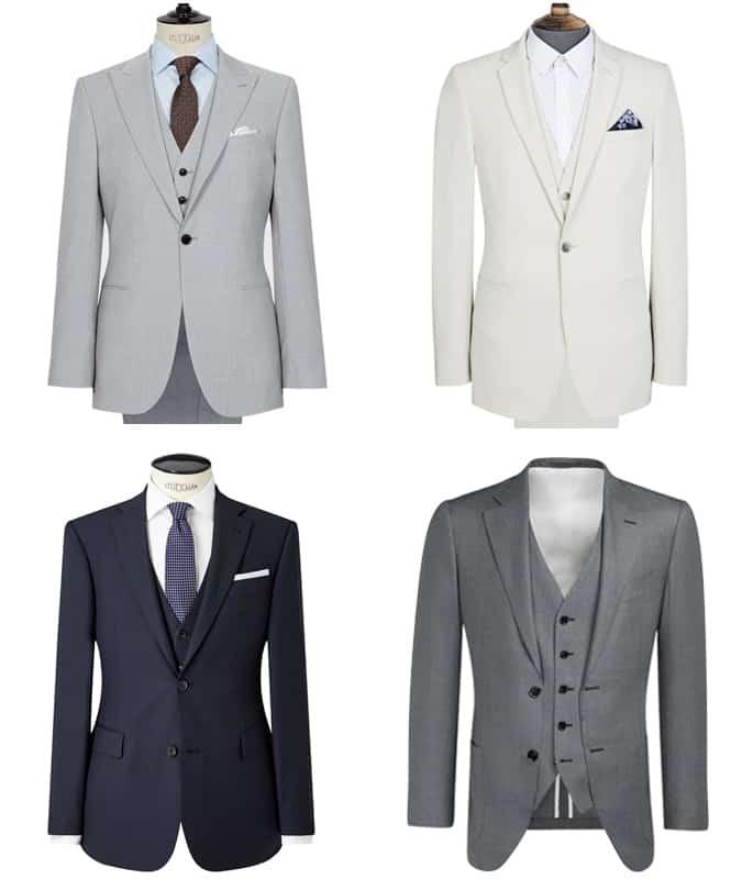 Costumes trois pièces pour hommes