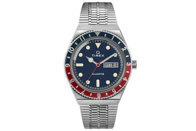 Q Timex Reissue 38mm Stainless Steel Bracelet Watch