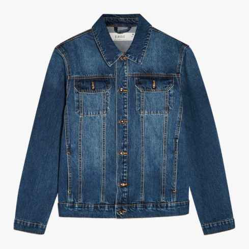 topman Indigo - Veste en jean