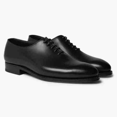 JM WESTON - Chaussures richelieu en cuir entièrement coupées