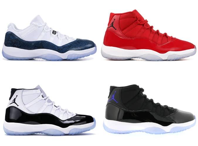 Meilleures baskets Air Jordan XI