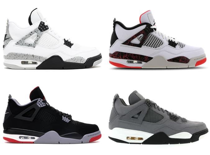 Meilleures baskets Air Jordan IV