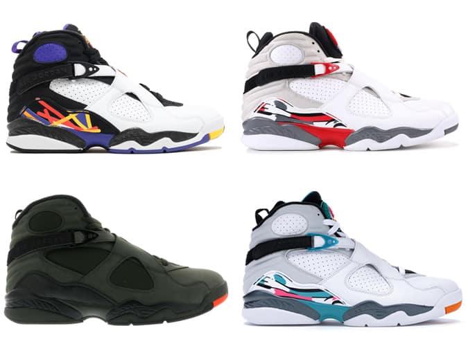 Meilleures baskets Air Jordan VIII