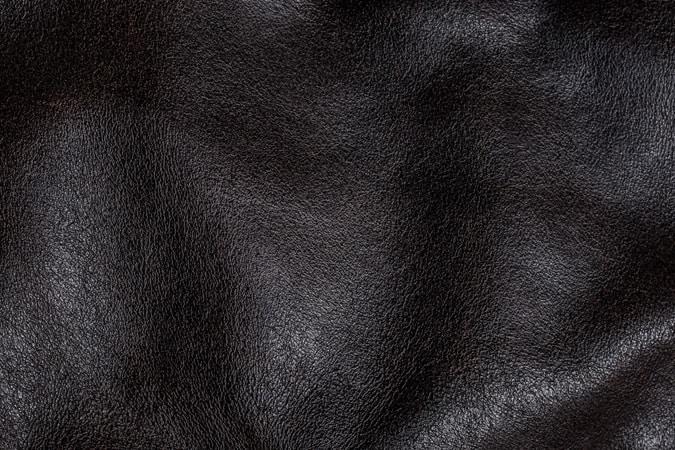 Fin, haut, cuir, tissu