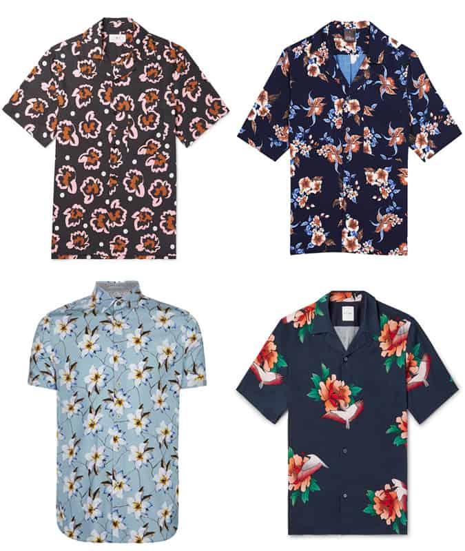 Les meilleures chemises à fleurs pour hommes