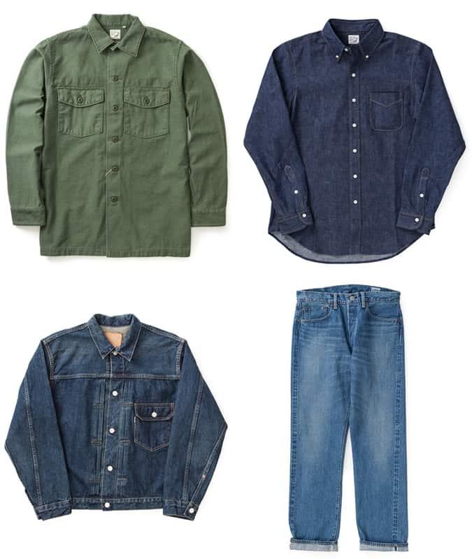Les meilleurs vêtements pour hommes Orslow