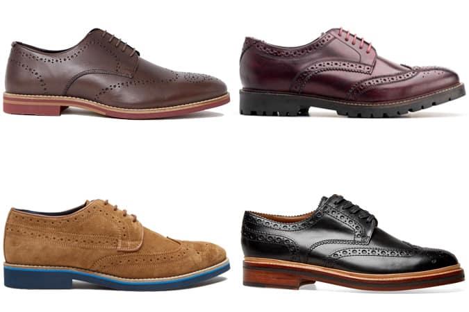 Les meilleures chaussures brogues à semelle contrastée