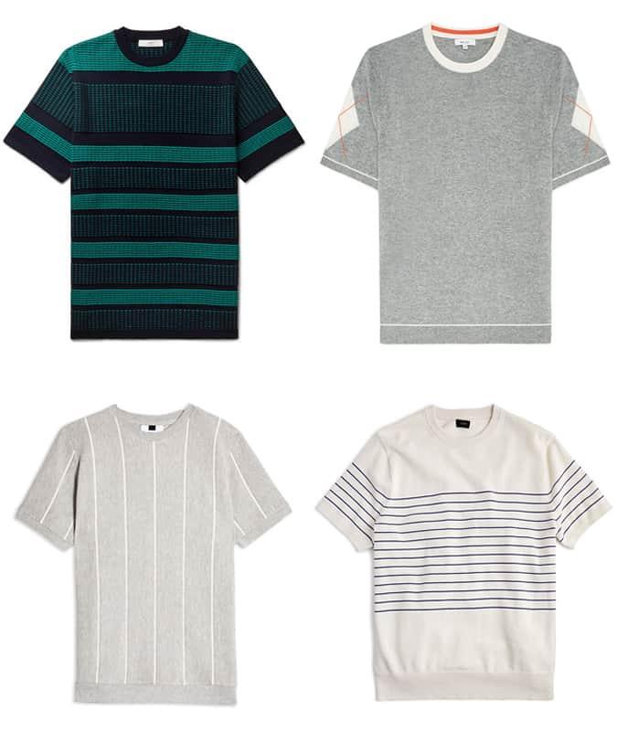 Meilleurs T-shirts tricotés